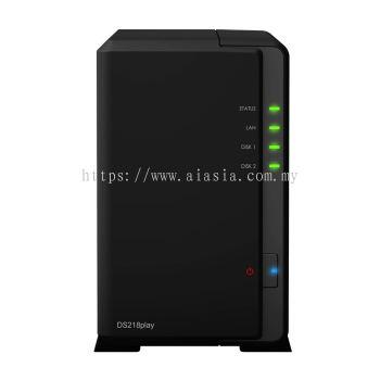 Synology DiskStation - SYN-DS-218Play (2 Bay Desktop NAS)