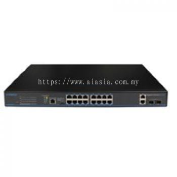 PVE 16 �C Port Full Gigabit POE Switch with SFP.IGS-416-P200