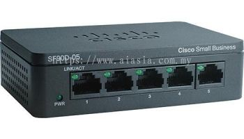 Cisco 5-Port 10/100 Desktop Switch.SF95D-05/SF95D-05-SG