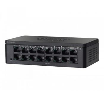 Cisco 16-Port 10/100 Desktop Switch.SF95D-16/SF95D-16-SG