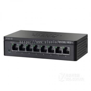 Cisco 8-Port Gigabit Desktop Switch.SG95D-08/SG95D-08-SG