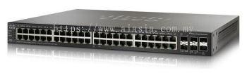 Cisco 48-port Gigabit Stackable Switch.SG350X-48/SG350X-48-K9-UK