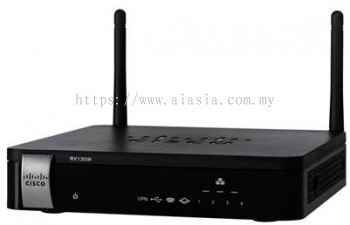 Cisco Wireless-N VPN Router with Web Filtering.RV130WB/RV130W-WB-E-K9-G5