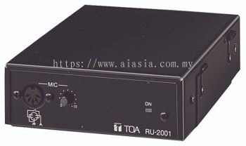 RU-2001.TOA Amplifier Control Unit. #AIASIA Connect