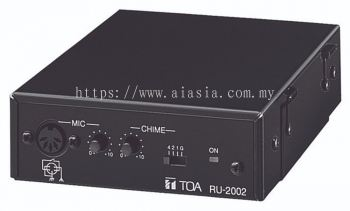 RU-2002.TOA Amplifier Control Unit. #AIASIA Connect
