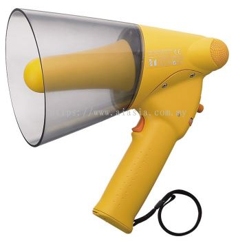 ER-1206W.TOA Splash-proof Hand Grip Type Megaphone with Whistle