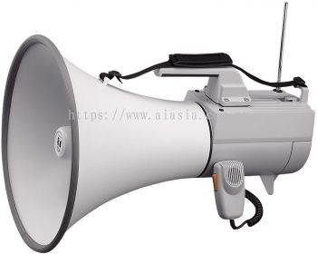 ER-2930W.TOA Shoulder Type Megaphone with Whistle