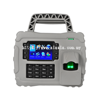S922. ZKTeco Waterproof, Dust proof and Shockproof Portable Fingerprint Time Attendance Terminal