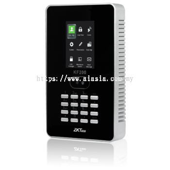 KF200. ZKTeco Face Time Attendance Terminal