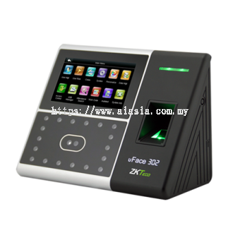 uFace302. ZKTeco Multi-Biometric Time Attendance and Access Control Terminal