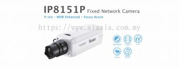 IP8151P. Vivotek Fixed Network Camera