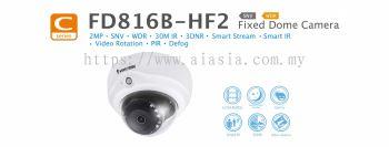 FD816B-HF2. Vivotek Fixed Dome Camera