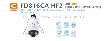 FD816CA-HF2. Vivotek Fixed Dome Network Camera