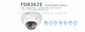 FD8362E. Vivotek Fixed Dome Camera
