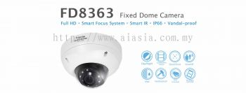 FD8363. Vivotek Fixed Dome Camera