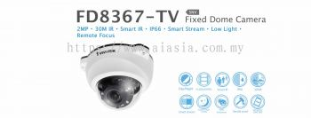 FD8367-TV. Vivotek Fixed Dome Camera