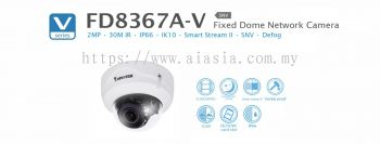 FD8367A-V. Vivotek Fixed Dome Network Camera