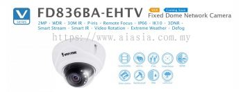 FD836BA-HV. Vivotek Fised Dome Network Camera