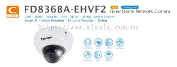 FD836BA-HV. Fixed Dome Network Camera