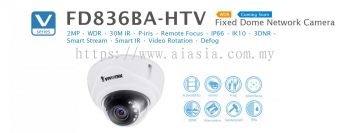 FD836BA-HV. Vivotek Fixed Dome Network Camera