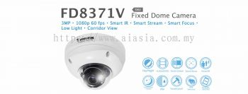 FD8371V. Vivotek Fixed Dome Camera