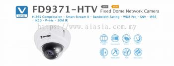 FD9371-HTV. Vivotek Fixed Dome Network Camera