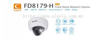 FD8179-H. Vivotek Fixed Dome Network Camera