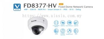 FD8377-HV. Vivotek Fixed Dome Network Camera