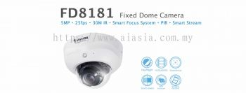 FD8181. Vivotek Fixed Dome Camera