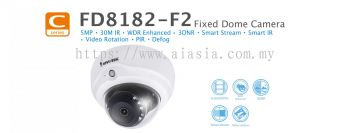 FD8182-F2. Vivotek Fixed Dome Camera
