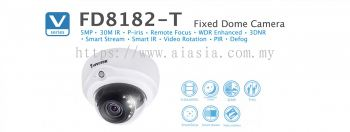 FD8182-T. Vivotek Fixed Dome Camera