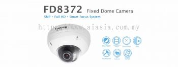 FD8372. Vivotek Fixed Dome Network Camera