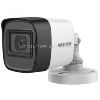 DS-2CE16H0T-ITFS. Hikvision 5MP Audio Fixed Mini Bullet Camera
