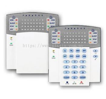 K32RF. Paradox Keypad with 32 zone Paradox Wireless LED Keypad Module