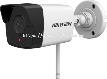 DS-2CV1021G0-IDW. Hikvision 2 MP Outdoor Fixed Bullet Network Camera with Build-in Mic