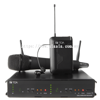 WS-402. TOA Dual Channel Wireless Set. #AIASIA Connect