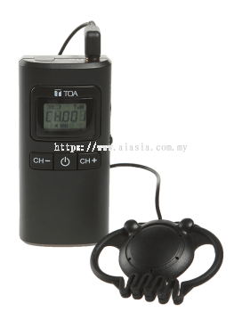 WG-D100R. TOA Digital Wireless Guide Receiver. #AIASIA Connect