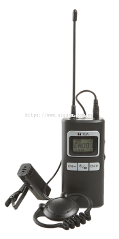WG-D120T. TOA Digital Wireless Guide Transmitter (Dual). #AIASIA Connect
