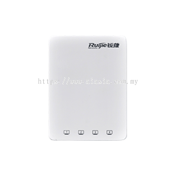 RG-AP130(W2)V2. Ruijie 802.11ac Wave 2 (Wi-Fi 5) Wall AP with 4 GE LAN Ports. #AIASIA Connect