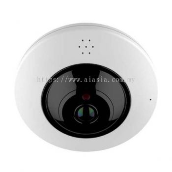 AVM9370. ASIS Performance Fisheye IR Dome IP Camera. #AIASIA Connect