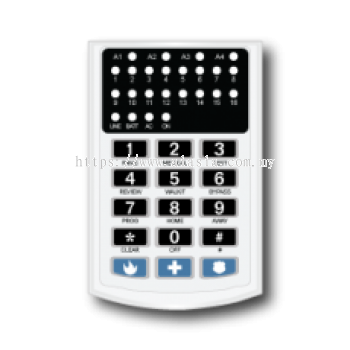 LSeries L16. SUPA L16 LED Keypad. #AIASIA Connect