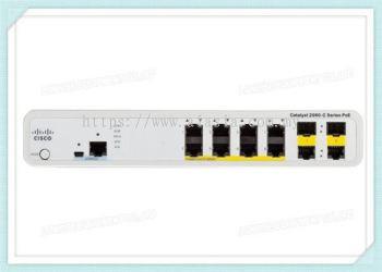 WS-C2960C-8PC-L. Cisco Catalyst 2960C Switch 8 FE PoE, 2 x Dual Uplink, Lan Base. #AIASIA Connect