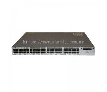 WS-C3850-48P-S. Cisco Catalyst 3850 48 Port PoE IP Base. #AIASIA Connect