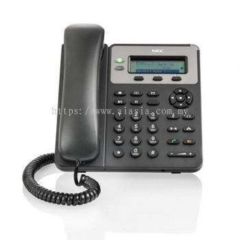 ITX-1615-1W. NEC GT210 Small Business SIP Desktop Phone. #AIASIA Connect