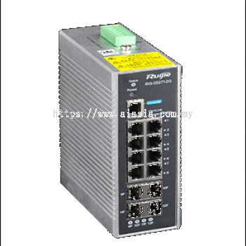 RG-IS2712G. Ruijie 8-port 10/100/1000BASE-T and 4 GE SFP Ports(non-combo). #AIASIA Connect