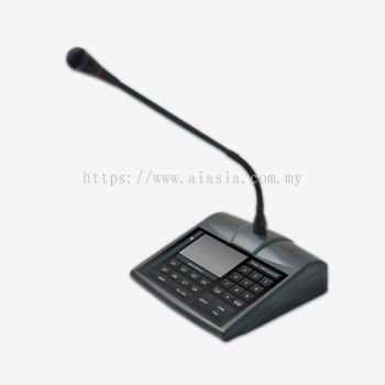 PD1900. Amperes LCD Touch Screen Paging Microphone. #AIASIA Connect