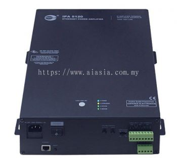 iPA5060/ iPA5120. Amperes Ethernet Power Amplifier Terminal. #AIASIA Connect