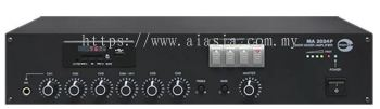 MA2024P. Amperes 240W 100V Line Desktop Mixer Amplifier with MP3 / Tuner / USB / SD Card module
