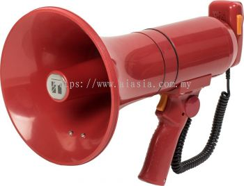 ER-3215S (23W max.) TOA Hand Grip Type Megaphone with Siren Signal. #AIASIA Connect