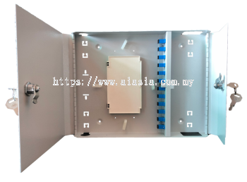 "Wall Mount Fiber Patch Panel 19"". Fiber Optic. #AIASIA Connect"